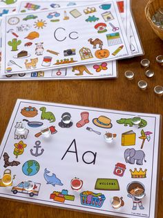 Perfect for young children learning the beginning letter sounds! Easy to prep, each mat focuses on a single letter sound. Using bright, fun images, children need to determine which word starts with the sound on the mat making them ideal for children who are familiar with the first 26 letter sounds and need practice differentiating between initial sounds. Answer cards included to make using them as an independent center even easier! #kindergartenliteracycenter #beginningsounds… Kindergarten Language Arts, Preschool Literacy, Early Literacy, Literacy Activities, Literacy Centers, Teaching Resources, Letter Sound Activities, Activities For Boys, Alphabet Activities