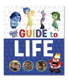 Another great find on #zulily! Inside Out Guide to Life Hardcover #zulilyfinds