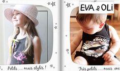 Création d'un visuel pour couffin privé de la vent Eva & Oli