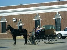 Amish in Jamesport, Missouri