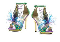 5 Inch Sexy High Heel Shoes Peacock Feather Shoes Mardi Gras Costume Shoes These are to Mardi Gras and not enough peacock for me! Peacock Halloween Costume, Mardi Gras Costumes, Halloween Costumes, Halloween Stuff, Halloween Ideas, Halloween Shoes, Halloween 2014, Crazy Shoes, Me Too Shoes
