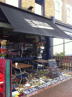 Blue Mountain Cafe - East Dulwich, London