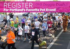 "Oregon Humane Society's ""Doggie Dash 2012"""