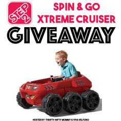 Step2 Spin & Go Xtreme Cruiser Giveaway