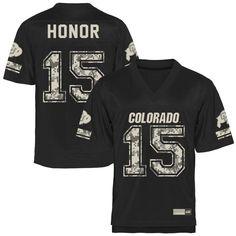 Colorado Buffaloes Desert Camo Football Jersey - Black
