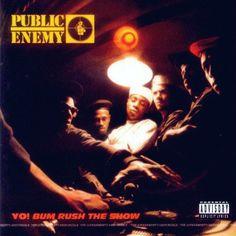 """I Public Enemy pubblicano il disco """"Yo! Bum Rush The Show"""" / Public Enemy released the album """"Yo! Bum Rush The Show"""" / Les Public Enemy publient le disque """"Yo! Bum Rush The Show"""". Rap Album Covers, Greatest Album Covers, Rap Albums, Best Albums, Greatest Albums, Music Albums, Hiphop, Classic Hip Hop Albums, Hip Hop Classics"""