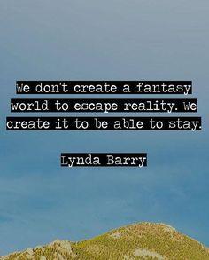 a fantasy world