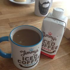 @jimmyicedcoffee Perfect Sunday morning. Mixing up the rules and having my fave drink in my fave mug! Score