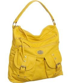 I can't wear yellow... It's not my color... But I can carry it :)
