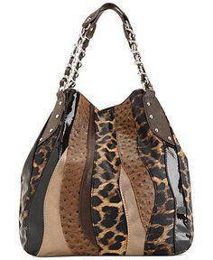 Carlos by Carlos Santana Handbag, Melodia Chain Shopper - All Handbags - Handbags & Accessories - Macy's