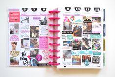 a July through August flip through in my Happy Planner™ | Amanda Rose Zampelli