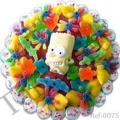 Tarta De Chuches Bart Simpson