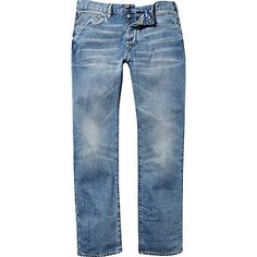 Light wash Spencer straight jeans £45.00