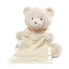 Peek a Boo the Talking White Teddy Bear by Gund is a giggle guaranteed toy. This plush talking white teddy bear is battery operated actually plays peek-a-boo! Peek A Boo Game, Peek A Boos, White Teddy Bear, Teddy Bears, Baby Stuffed Animals, Stuffed Bear, Love Bear, Baby Safe, Educational Toys