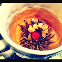 My blooming tea
