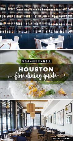 Your guide to the best places for dinner in Houston!