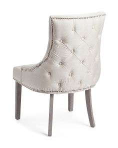 Made In India Sonya Tuxedo Chair Accent Chairs Furniture