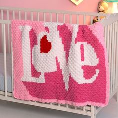 Heart Throb Blanket - Free Pattern