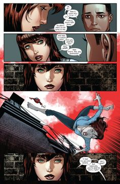 Mary Jane in Miles Morales: The Ultimate Spider-Man #1