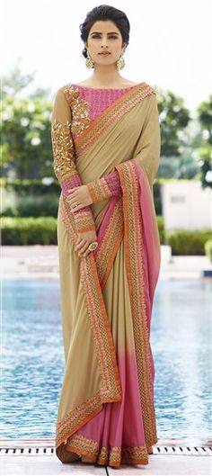 Silk Wedding Saree, Designer Silk Sarees - Indian Wedding Saree