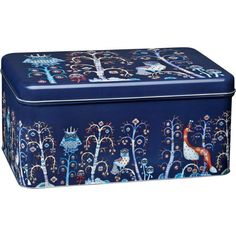 Iittala Taika Metal Box, Blue