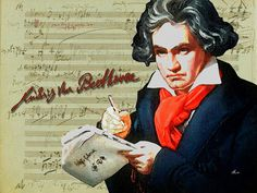 'Ludwig van Beethoven' von Dirk h. Wendt bei artflakes.com als Poster oder Kunstdruck $18.03