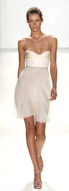 j mendel::perfect little white dress
