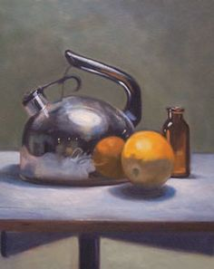REFLECTION Free guide for still life oil painting