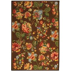 Chelsea Brown 7 ft. 9 in. x 9 ft. 9 in. Area Rug