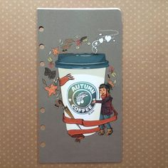 Personal Autumn Dashboard Coffee Dashboard Filofax by PlannerMania