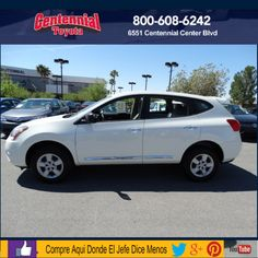 2013 Nissan Rogue S Sport Utility 4 D ******Why pay more?  **Don't miss out on this great deal! General Information Stock # 440602 VIN: JN8AS5MT3DW536433 Engine:  4 – Cyl, 2.5 Liter Transmission:  Automatic, CVT Drive: 2 WD Fuel City / Hwy 23/28 MPG Call for more information 1800 608 6242 *****Equipment ***** Traction Control, Vehicle Dynamic Control, ABS 4 Wheel, Keyless Entry, Air Conditioning, Power Windows, Power Door Locks, Cruise Control, Power Steering, Tilt Wheel, AM/FM Stereo..