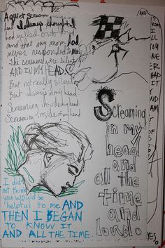 love the idea of art journaling for art  therapy!