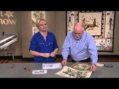 The Quilt Show: Trailer 1701 - Sandra Leichner / Lynn Kough Landscape Art Quilts, The Quilt Show, English Paper Piecing, Applique Quilts, Applique Ideas, Quilt Art, Fabric, Tube, Quilting