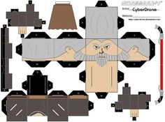 Cubee - Count Dooku by CyberDrone on DeviantArt