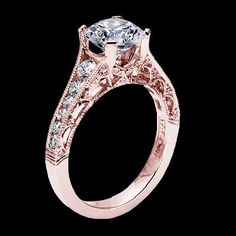 OOOH I LOVE THIS. It's PERFECT. Rose gold & gorgeous!