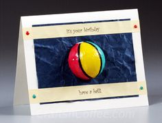 Did you have a fun Fourth of July? Are you lucky enough to have a long weekend scheduled? Woo-hoo! I hope so. I'm thinking this is a good time to share this Beach Ball Birthday Card. Of course, you…