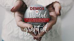 Demos en Navidad lo que nadie más puede dar por nosotros: nuestra gratitud. –Spencer W. Kimball  #ILUMINAelMUNDO