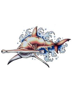 30+ Awesome Hammerhead Shark Tattoo Designs