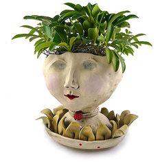 Victorian Lovelies Planter - Petaluma Lady Version