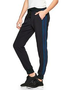 GapFit stripe-panel pants | Gap