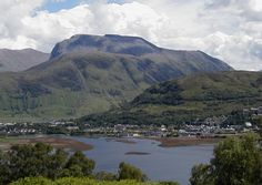 Ben Nevis...the highest point in Scotland.  It overlooks Fort William and Loch Linnhe.  :)