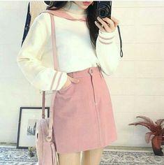Korean Fashion|Bubblegum Pink @oliwiasierotnik