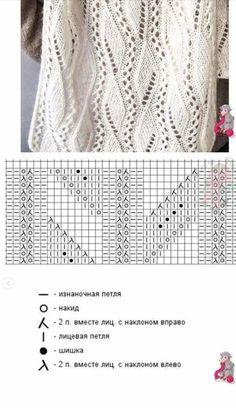 Lace Knitting Stitches, Kids Knitting Patterns, Lace Knitting Patterns, Crochet Doily Patterns, Crochet Shawl Diagram, Knitting Charts, Lace Patterns, Knitting Designs, Baby Knitting