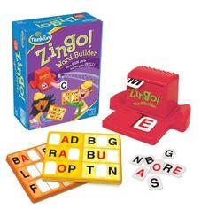 Zingo Word Builder Board Game Think Fun