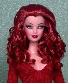 Radiant Redhead Bob Mackie Barbie by DivaLuvv, via Flickr
