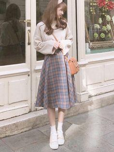 Fashion 5 cách phối đồ kinh điển chưa bao giờ hết đẹp của con gái v. 5 Möglichkeiten, das klassische Mädchen nie schön im Herbst - Winter zu koordinieren Korean Girl Fashion, Korean Fashion Trends, Korean Street Fashion, Ulzzang Fashion, Korea Fashion, Cute Fashion, Asian Fashion, Modest Fashion, Look Fashion