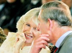 Britishroyalty: The Duchess of Cornwall and The Prince of Wales.