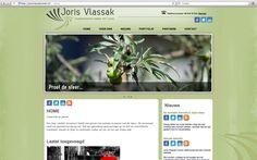 Website creation for www.jorisvlassaktuinen.nl