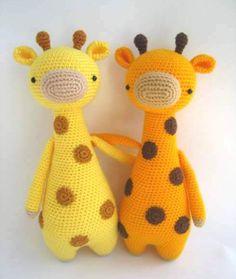 Жираф амигуруми | 600 схем амигуруми на русском