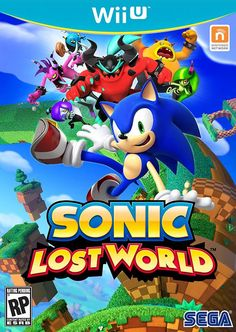 Sonic Lost World - Sonic's next big adventure, only on Nintendo consoles #WiiU #3DS